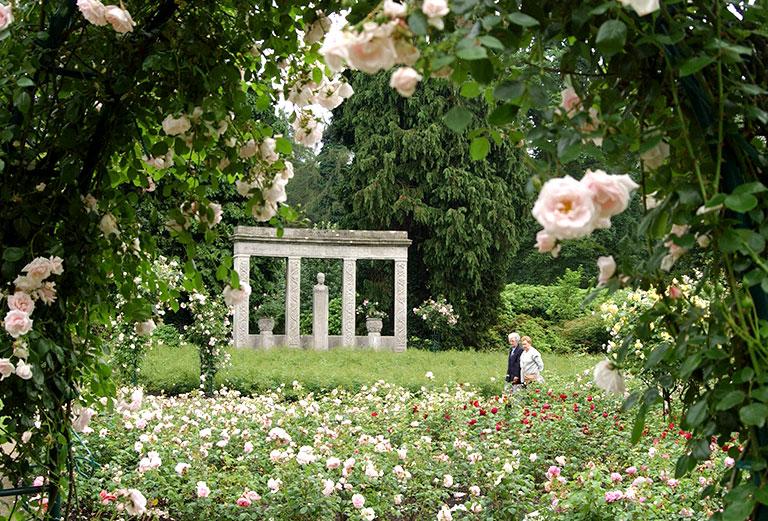 Cordes Denkmal im Rosengarten
