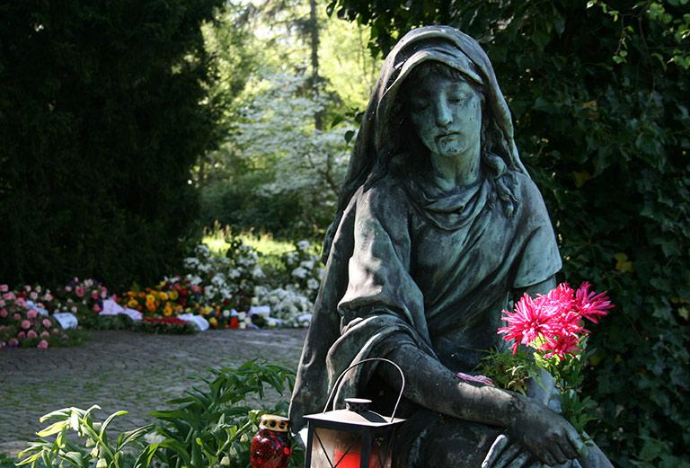 Friedhof Öjendorf /Anonyme Beisetzungen