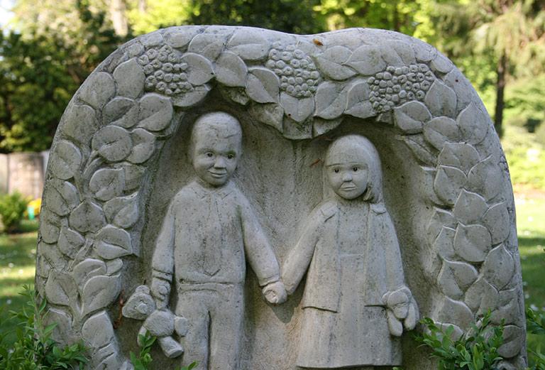 Friedhof Öjendorf / Kindergrabstätte