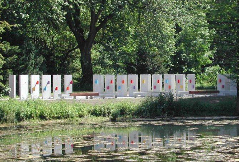 Friedhof Öjendorf / Schleemer Bach