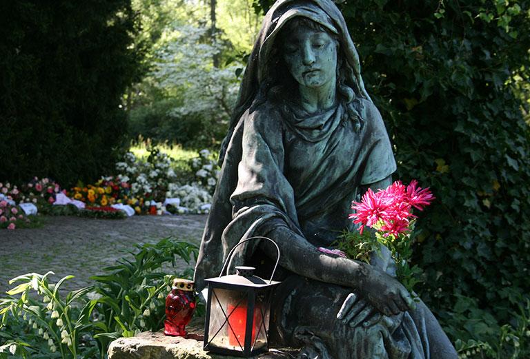 Friedhof Öjendorf / Anonyme Beisetzung