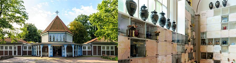 Friedhof Ohlsdorf Feierräume und Kapellen