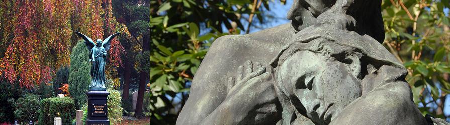 Friedhof Ohlsdorf / Grabstätten
